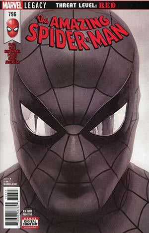 Amazing Spider-Man #796 C Alex Ross Black & White Variant Vf+/nm+ 3Rd Comic