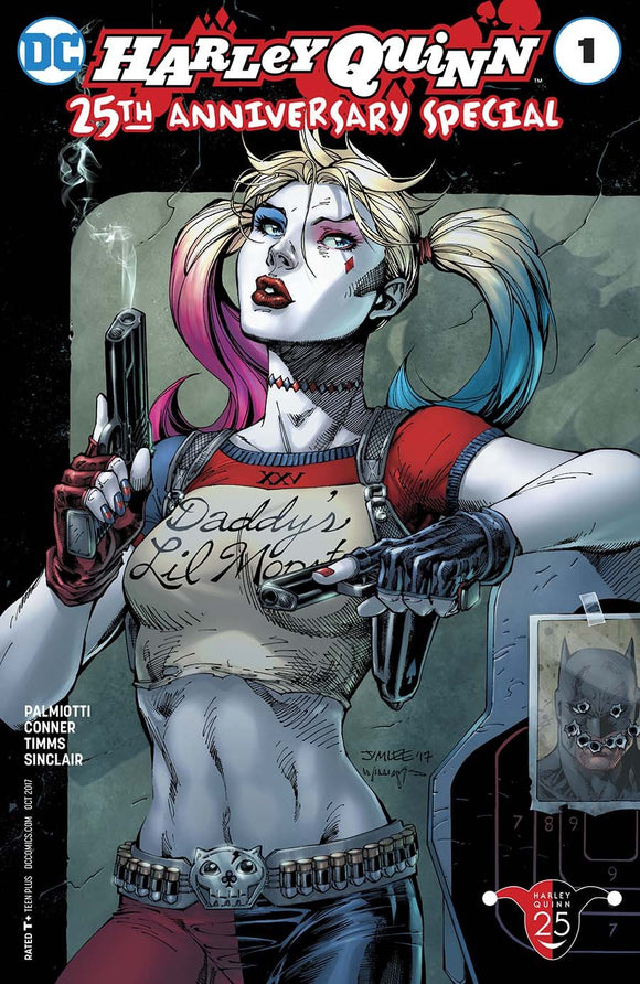 Harley Quinn 25Th Anniversary Special #1 B Jim Lee Variant Vf+/nm+ Comic