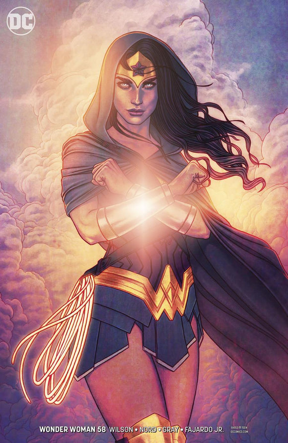 Wonder Woman #58 B Jenny Frison Variant Vf+/nm+ Comic