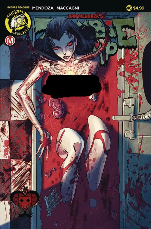 Zombie Tramp #46 Sexy Mendoza Celor Vf+/nm+ Comic