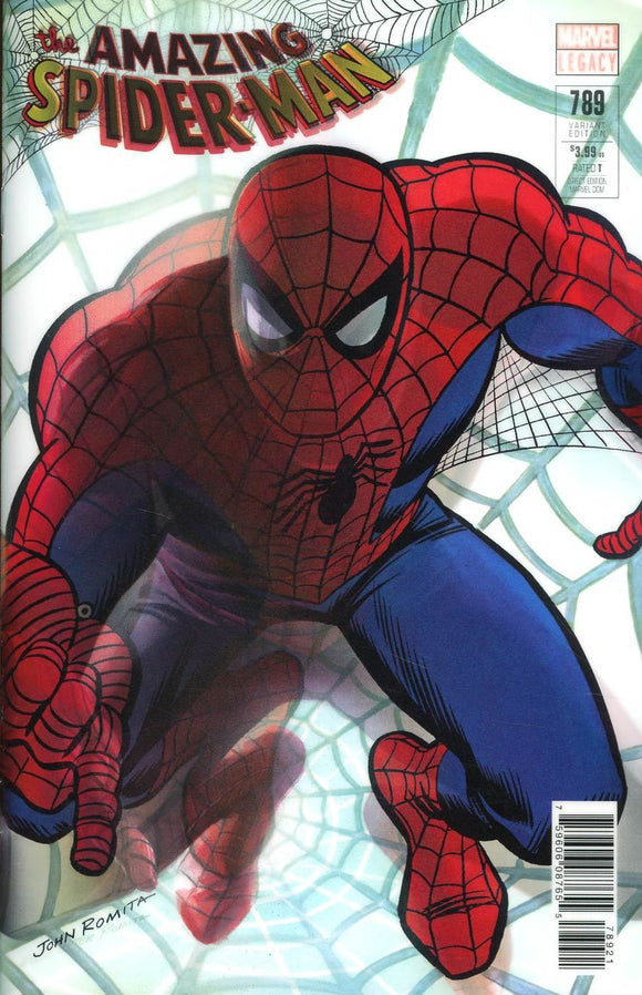 Amazing Spider-Man #789 B Alex Ross Lenticular Variant Vf+/nm+ 1St Print Comic