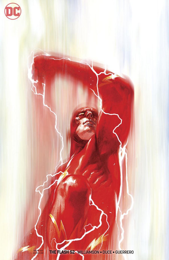 Flash #52 B Gabriele Dell Otto Variant Cover 1St Print Vf+/nm+ Comic