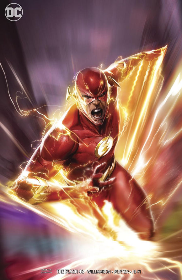 Flash #48 B Francesco Mattina Variant 1St Print Vf+/nm+ Comic