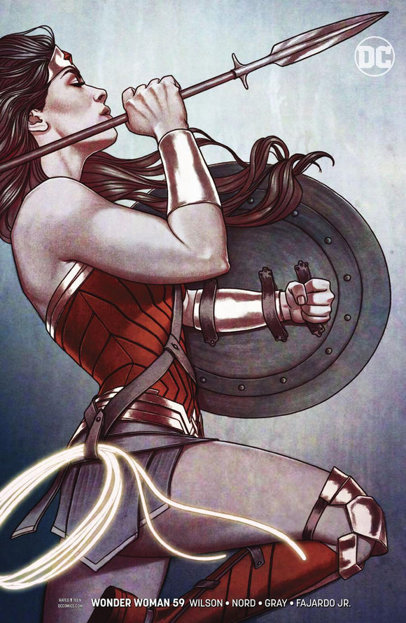 Wonder Woman #59 B Jenny Frison Variant Vf+/nm+ Comic