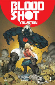 Bloodshot Salvation #2 A Regular Kenneth Rocafort Vf+/nm+ Comic