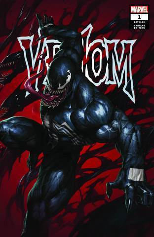 Venom Vol4 #1 Skan Exclusive Variant Vf+/nm+ 1St Print Comic