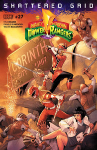 Mighty Morphin Power Rangers #27 A Jamal Campbell Vf+/nm+ 1St Print Comic