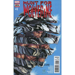Hunt For Wolverine #1 Mcniven Charles Soule Vf+/nm+ Comic