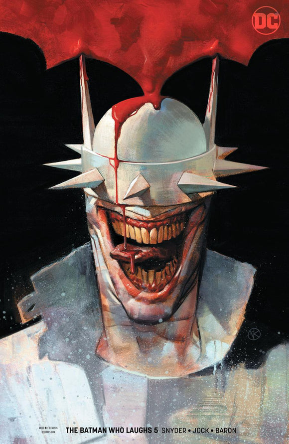 Batman Who Laughs #5 B Kalvachev Variant 1St Print Nm Comic