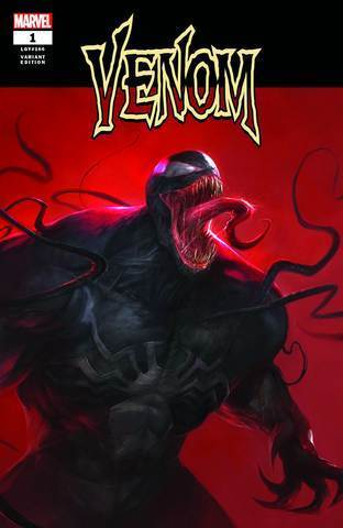 Venom Vol4 #1 Mattina Megacon Exclusive Variant Vf+/nm+ 1St Print Comic