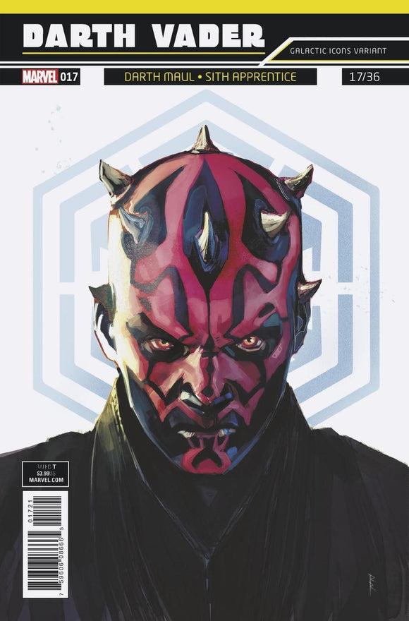 Darth Vader #17 B Rod Reis Galactic Icon Variant Star Wars Vf+/nm+ Comic