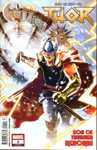 Thor #1 Michael Del Mundo Vf+/nm+ 1St Print Comic