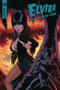 ELVIRA MISTRESS OF THE DARK #8 B Cermak Variant VF+/NM+