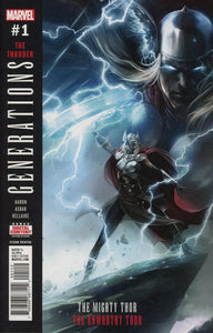 Generations Unworthy Thor & Mighty #1 Mattina Vf+/nm+ Comic