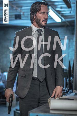 John Wick #4 C Valletta Keanu Photo Variant Vf+Nm+ Comic