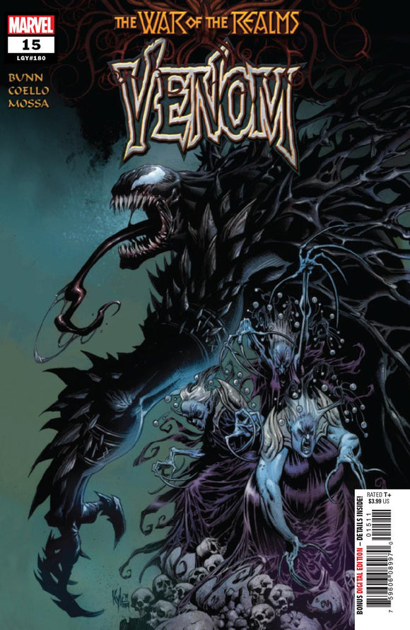 Venom Vol4 #15 A Kyle Hotz (War Of The Realms Tie-In) NM