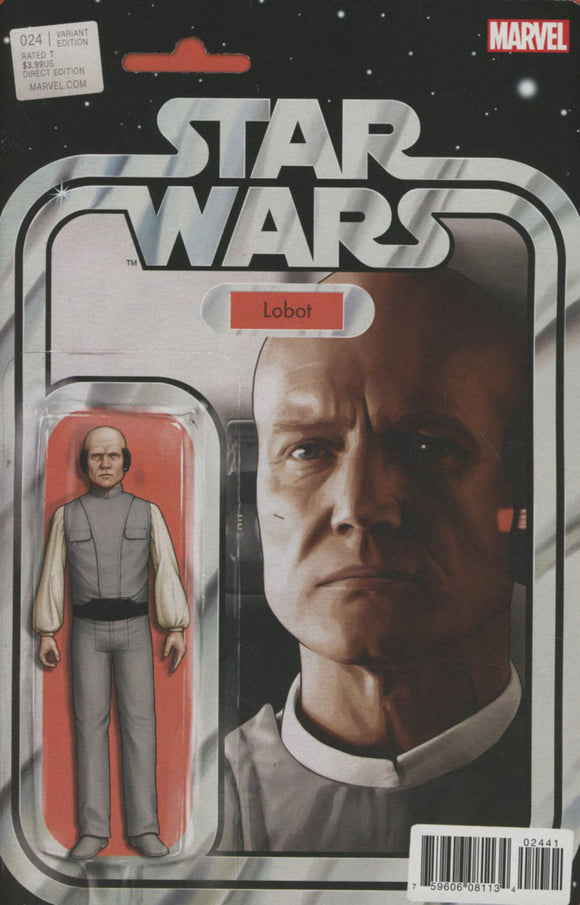 Star Wars #24 B Tyler Christopher Variant Lobot NM