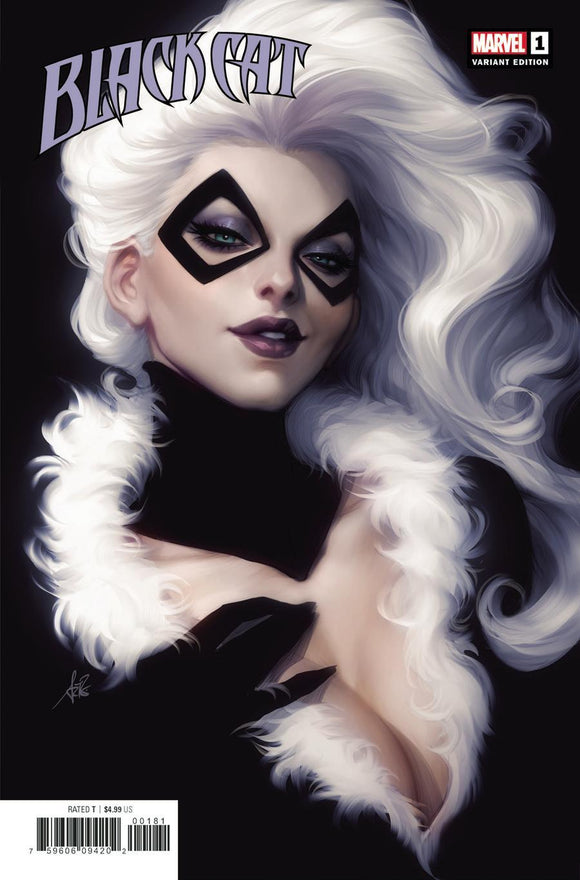 Black Cat #1 D Stanley Artgerm Lau Variant Vf+/nm+ Comic