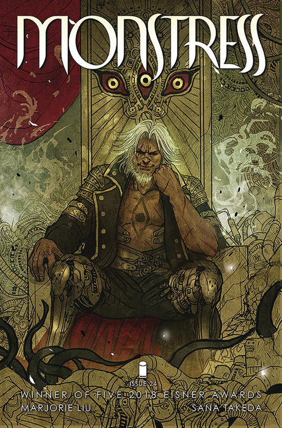 Monstress #24 Sana Takeda VF+/NM+ 1st print