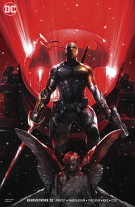 Deathstroke #32 B Francesco Mattina Variant 1St Print Vf+/nm+ Comic