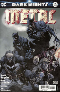 Dark Nights Metal #6 D Jim Lee Variant Vf+/nm+ Comic