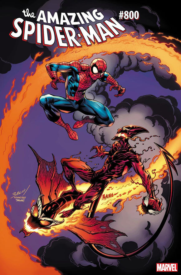Amazing Spider-Man #800 D Mark Bagley variant VF+/NM+ 1st print