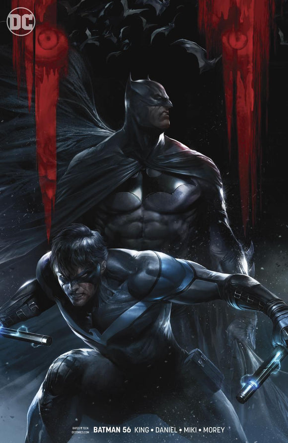 Batman #56 B Francesco Mattina Variant 1St Print Vf+/nm+ Comic