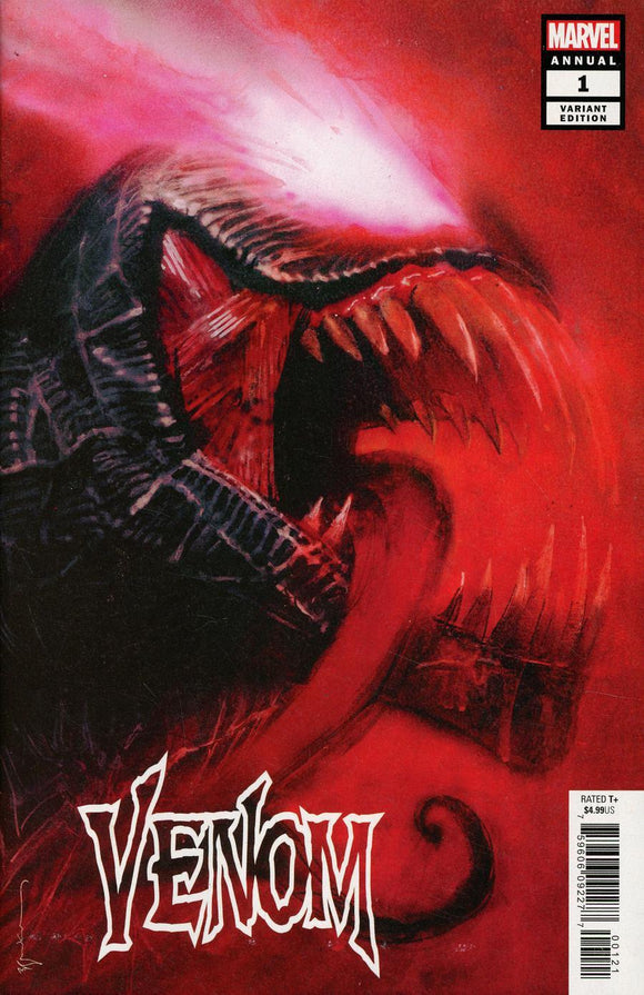Venom Annual #1 B Bill Sienkiewicz Vol 4 Variant Vf+/nm+ Comic