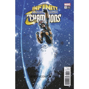 Infinity Countdown Champions #1 B Variant Mike Deodato Jr Cover Vg/vf Comic