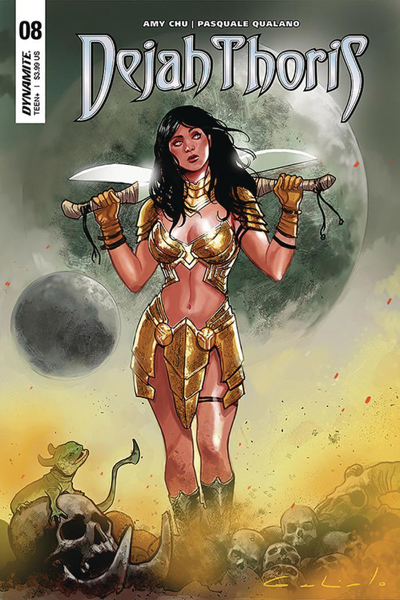 Dejah Thoris #8 A Diego Galindo Variant Vf+/nm+ 1St Print Comic