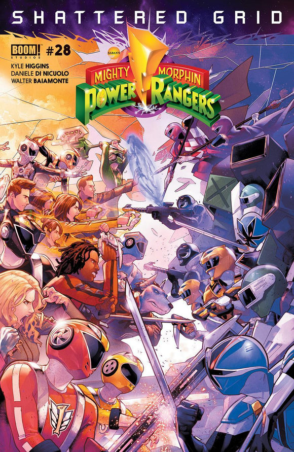 Mighty Morphin Power Rangers #28 A Jamal Campbell Vf+/nm+ 1St Print Comic