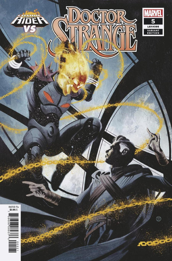 Doctor Strange #5 B Tedesco Cosmic Ghost Vs Variant Vf+/nm+ Comic