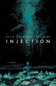 Injection #1 A Declan Shalvey 1St Print Vf+/nm+ 2015 Optioned For Tv Comic