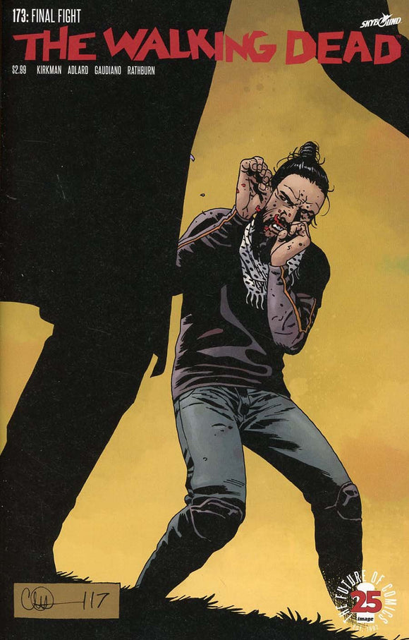 Walking Dead #173 A Kirkman Adlard Stewart Final Fight Vf+/nm+ 1St Print Comic