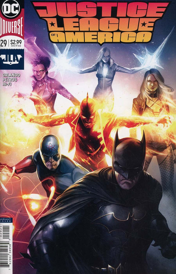 Justice League Of America #29 B Francesco Mattina 1St Print Vf+/nm+ Comic