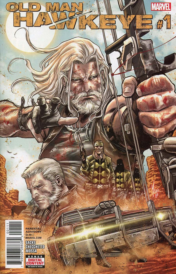 Old Man Hawkeye #1 A Marco Checchetto Vf+/nm+ Comic