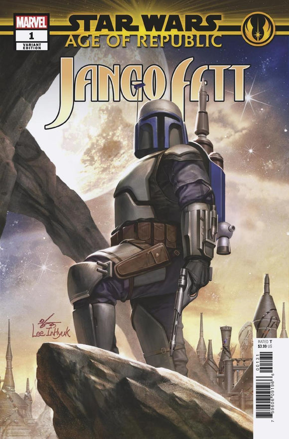 Age Of Republic Jango Fett #1 B In-Hyuk Lee Variant Vf+/nm+ Comic