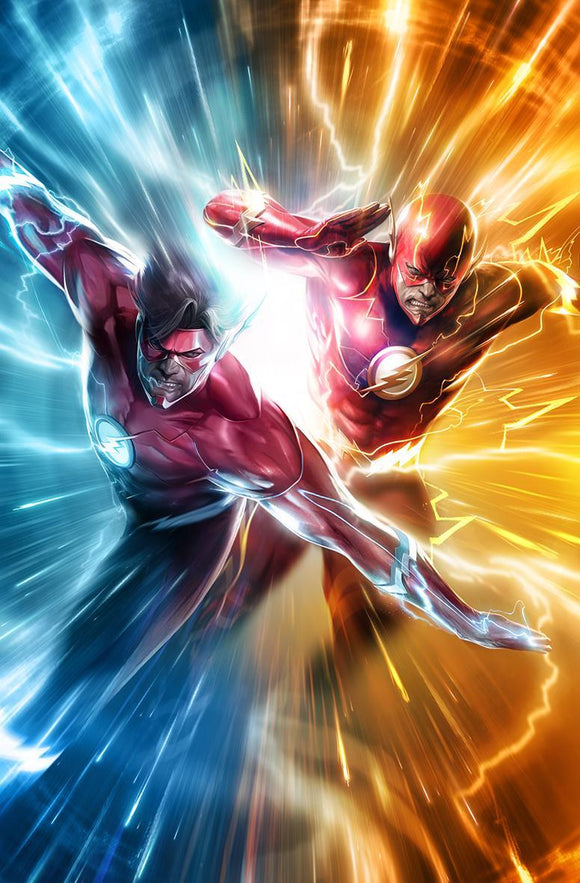 Flash #51 B Francesco Mattina Variant 1St Print Vf+/nm+ Comic