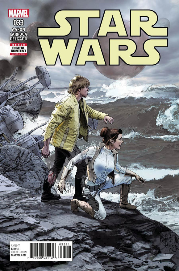 Star Wars #33 A Regular Mike Mayhew Cover Vf+/nm+ Comic