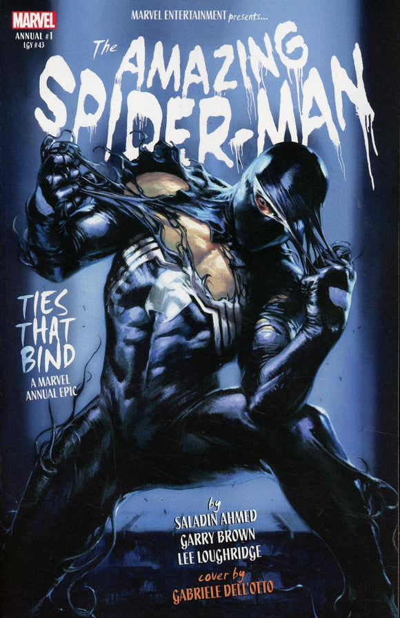 The Amazing Spider Man Annual #1 B Gabriele Dell Otto Variant Vf+/nm+ Comic