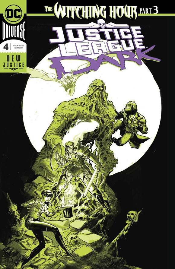 Justice League Dark #4 A Riley Rossmo Foil Nm Comic