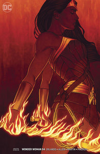 Wonder Woman #54 B Jenny Frison Variant Vf+/nm+ Comic