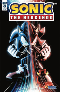 Sonic The Hedgehog #6 B Jonathan Gray Variant Nm Rare Comic