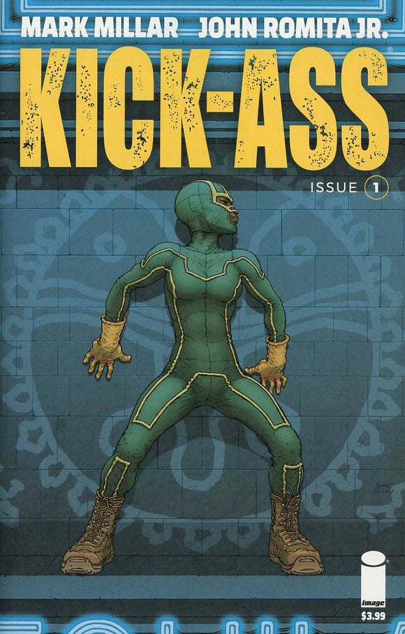 Kick Ass #1 D Frank Quitely Cover VF+/NM+