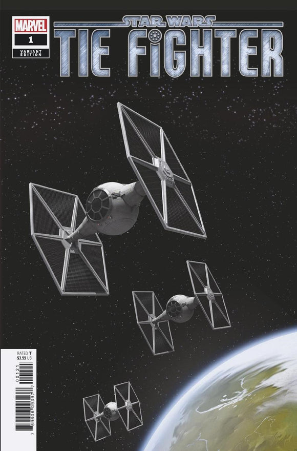 Star Wars Tie Fighter #1 C 1:10 Movie Variant VF+/NM+