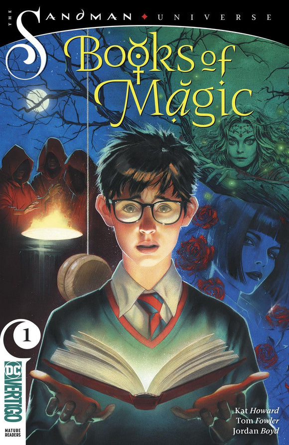 Books Of Magic #1 B Joshua Middleton Vol3 Variant Vf+/nm+ Comic