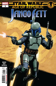 Age Of Republic Jango Fett #1 A Paolo Rivera Vf+/nm+ Comic