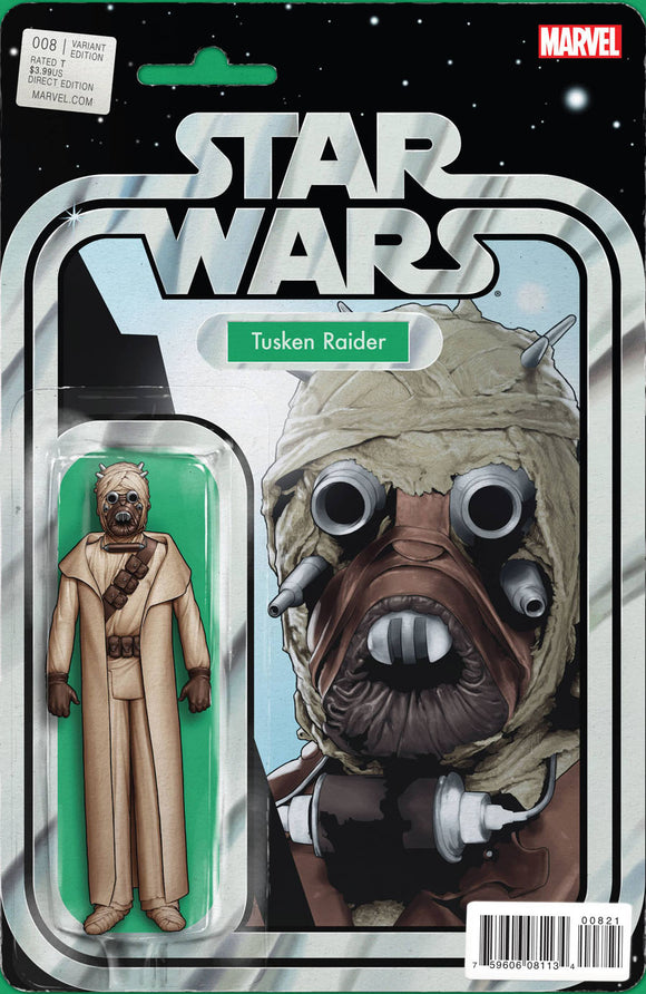 Star Wars #8 B Tyler Christopher Variant Tusken Raider NM