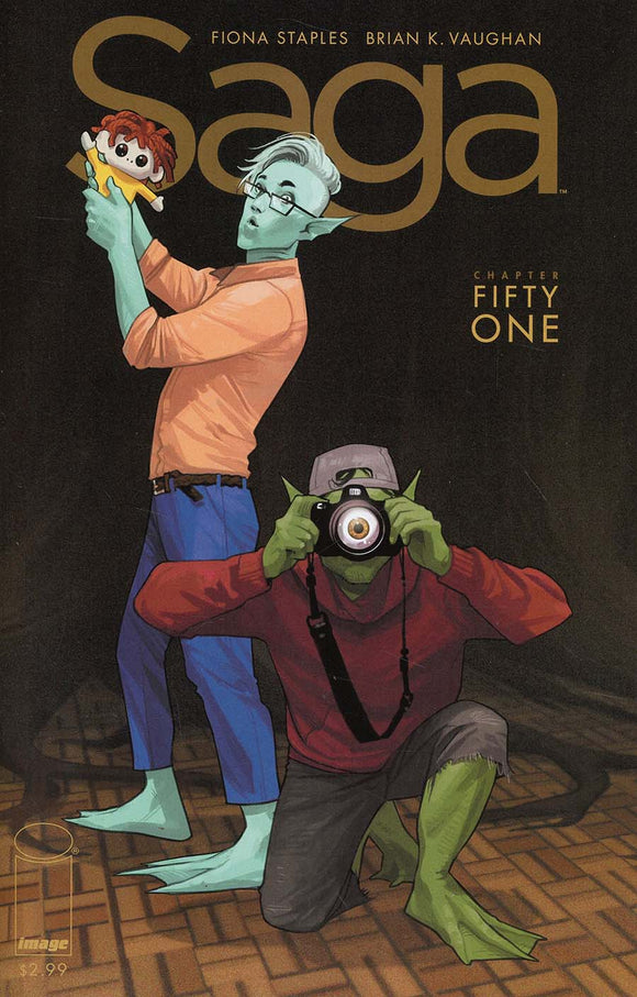 SAGA #51 1st print Fiona Staple VF+/NM+
