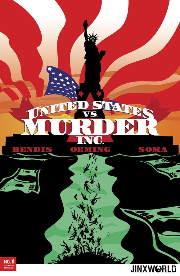 United States Vs Murder Inc #1 A Michael Avon Oeming Cover Vf+/nm+ Comic